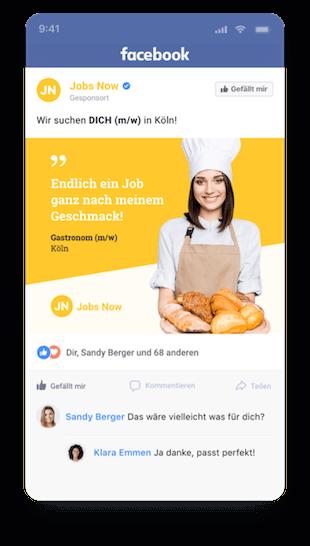 Recruiting mit Facebook & Google
